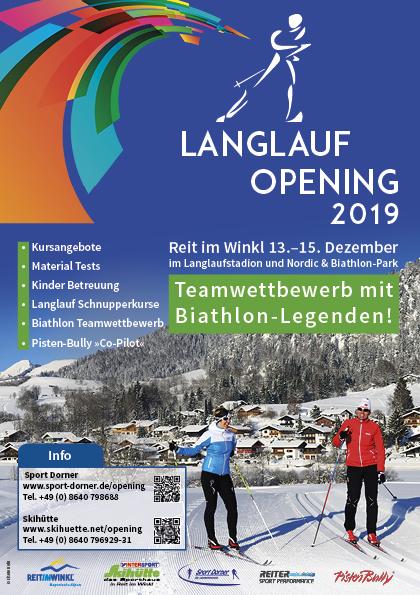 Langlauf Opening 2019