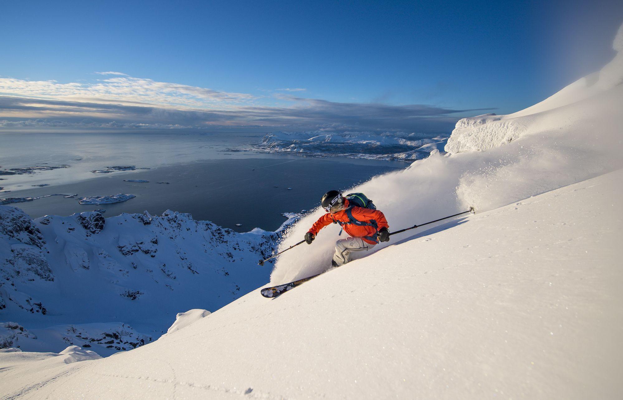 Ski fahren Norrona