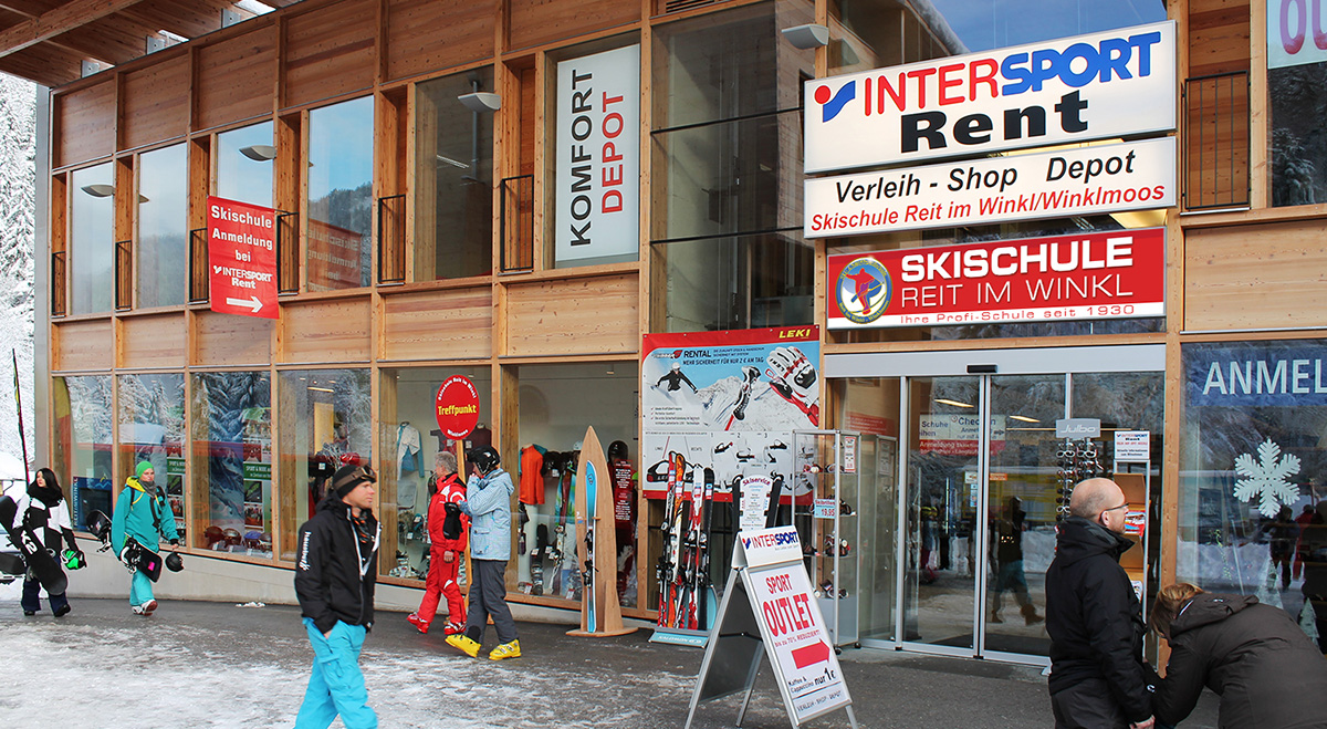 Intersport Rent Winklmoosalmbahn