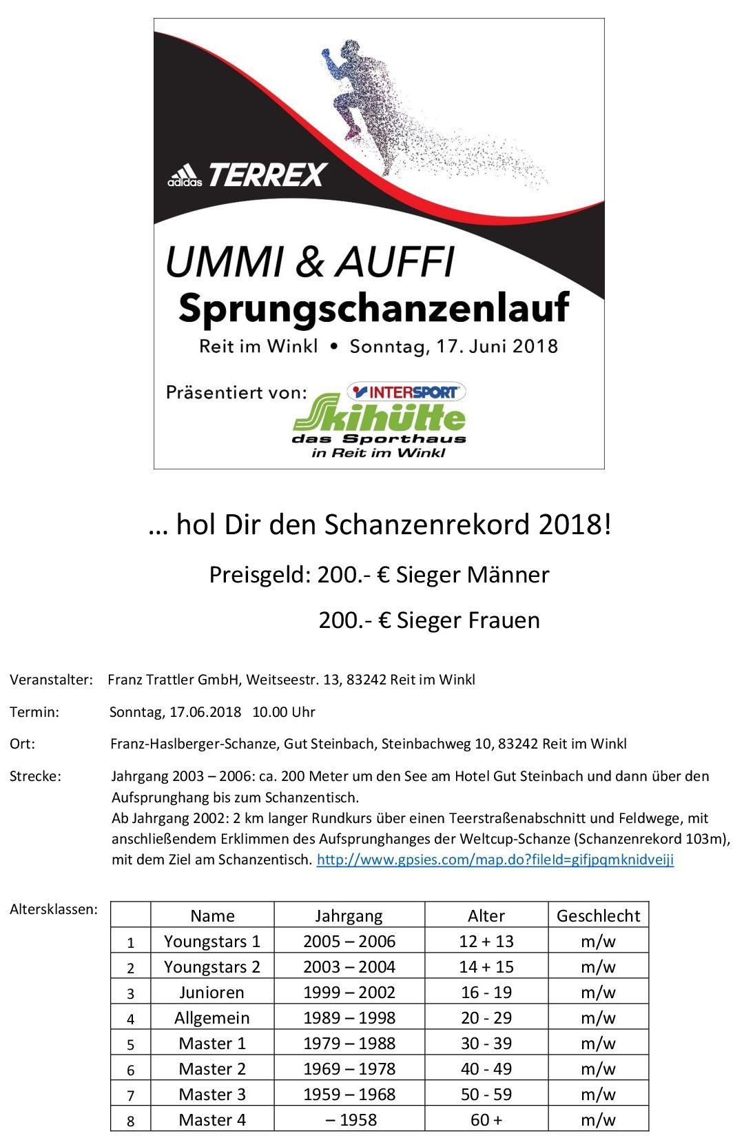 UMMI & AUFFI Ausschreibung 1
