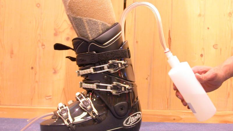 Schuhanpassung Step 8